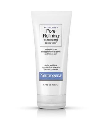 Neutrogena Pore Refining Exfoliating Facial Cleanser