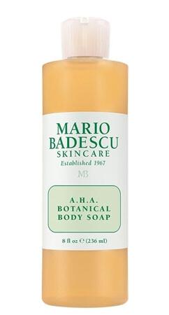 2. Mario Badescu AHA Botanical Body Soap - Best Alpha Hydroxy Acid (AHA) Body Washes