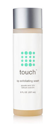 Touch Keratosis Pilaris and Acne Exfoliating Body Wash Cleanser - Best Alpha Hydroxy Acid (AHA) Body Washes