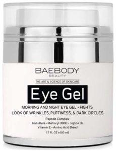 Baebody Eye Gel for Under & Around Eyes - Best Eye Creams With Peptides