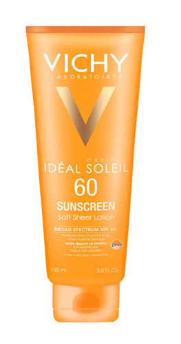 Vichy Capital Soleil Body & Face Sunscreen Lotion - Body Lotions With SPF 30 And Above