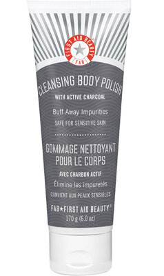 First Aid Beauty Cleansing Body Polish with Active Charcoal